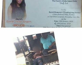 Man Dies In Fatal Accident A Day To His Wife's Burial In Uyo (Photo)