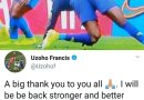 Brazil vs Nigeria: Francis Uzoho Speaks After His Horrible Injury During The Match