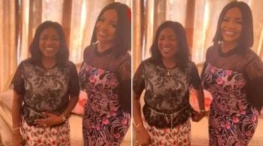 Nengi leaves many in shock as she takes picture with Bayelsa First Lady (Photos below)