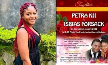SO SAD!! Young lady dies in motor accident five days to her wedding