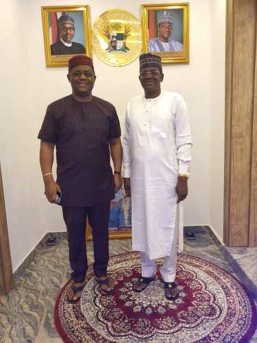 Fani-Kayode visits Gov. Matawalle after meeting Jonathan