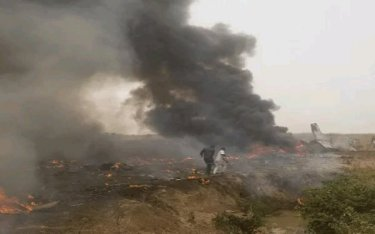 JUST IN: Deaths And Agony as Plane Crashes In Nigeria (Details below)