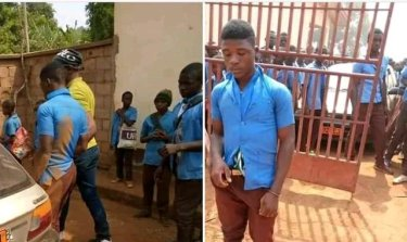 This Student Beats Up Principal And Set Up Administrative Block On Fire After, See Why He Did This (Details below)