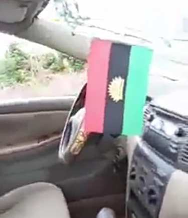 Soldiers Smash Lawyer's Car In Imo Over Biafran Flag (Photos)