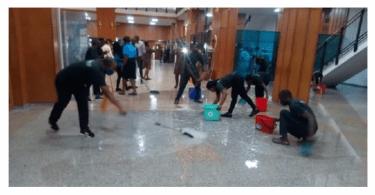 Despite N37 Billion Allocation, Nigerian Senators Meet Under Leaking Roof (Details below)