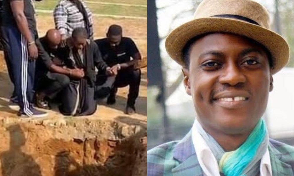 I Don't Want To Bury Him – Sound Sultan's Wife Farida Cries When Asked To Pour Sand On His Grave