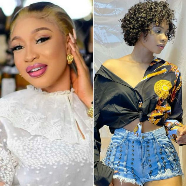 """""""I Dare You To Release My Sex Tape"""" – Jane Mena Tells Tonto Dikeh After Lawsuit Notice"""