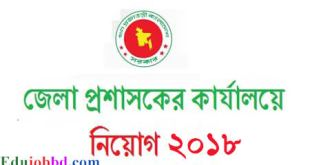 deputy commissioner job circular in satkhira