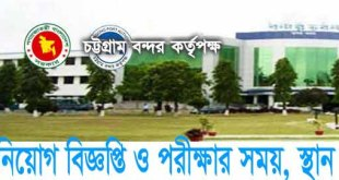Chittagong Port Authority New Circular For Govt Jobs Seeker-MCQ EXAM DATE PUBLISH