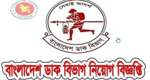 Bangladesh Post Office Job circular with Application Form- bangladeshpost.gov.bd