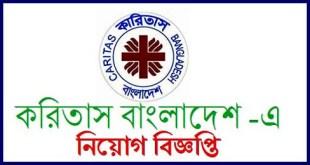 Caritas NGO job circular 2018