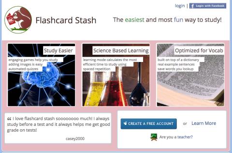 flashcard stash flashcard games and study tool optimized for