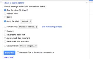 11. Journal (from 13 Gmail hacks for teachers – http://u.eduk8.me/13gmailhacks)