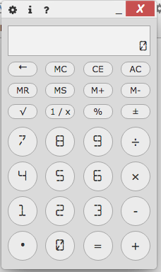 Chrome and Chromebook Calculator app