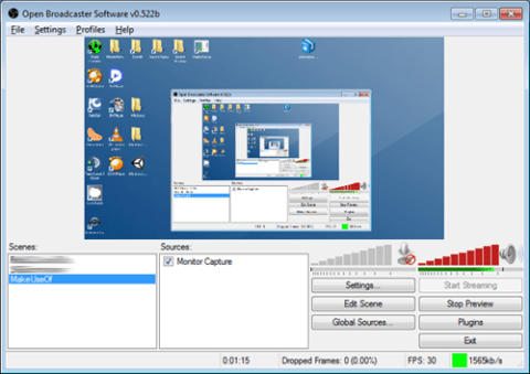 OBS Studio can be used for screencasts