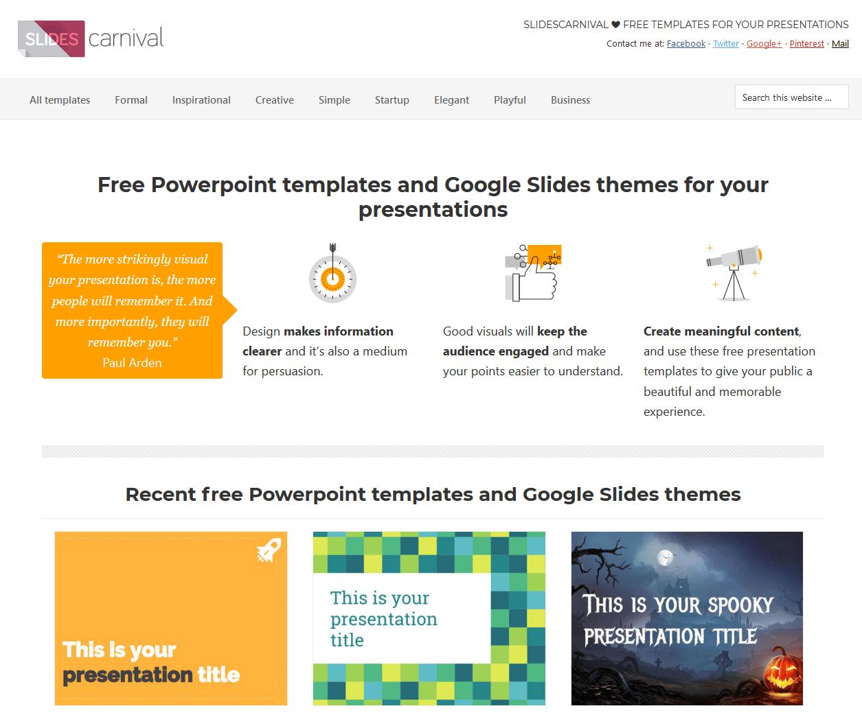 free google powerpoint templates