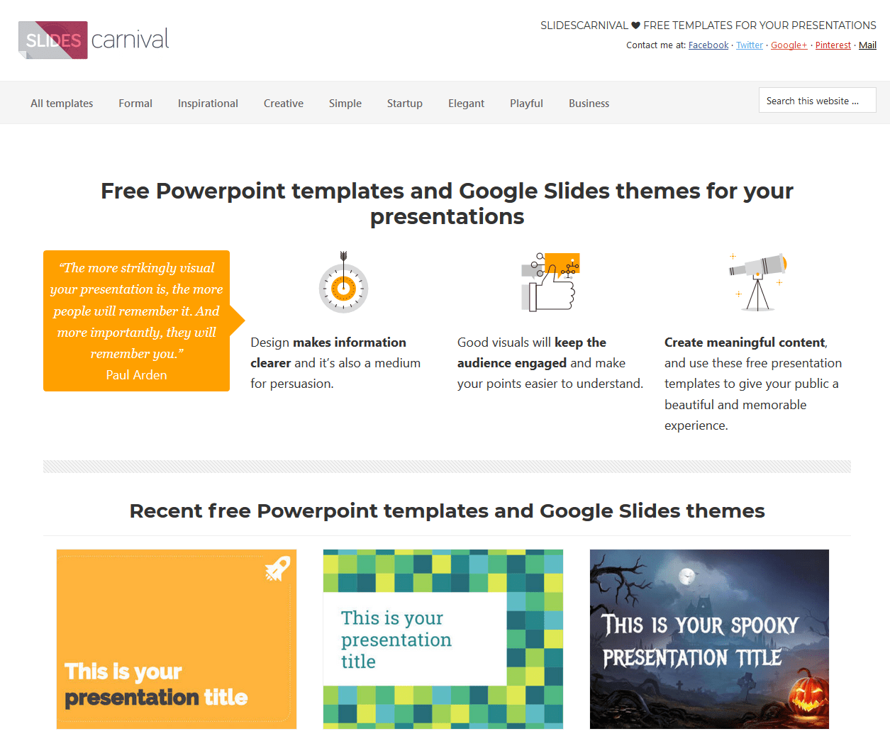 Slidescarnival free powerpoint templates and google slides themes slidescarnival free powerpoint templates and google slides themes for presenta eduk8me toneelgroepblik Gallery