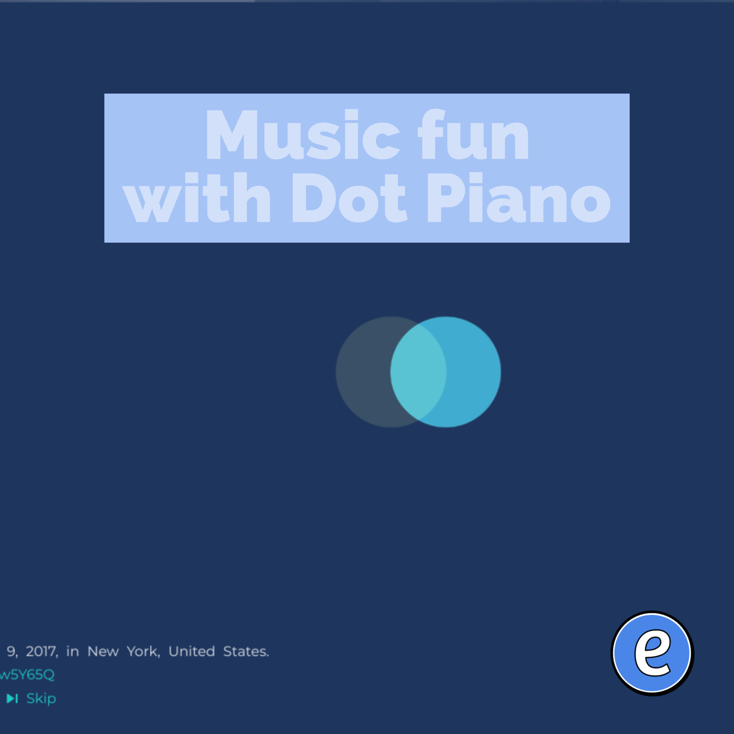 Music fun with Dot Piano