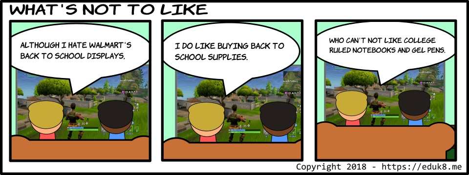 {Comic} What's not to like?