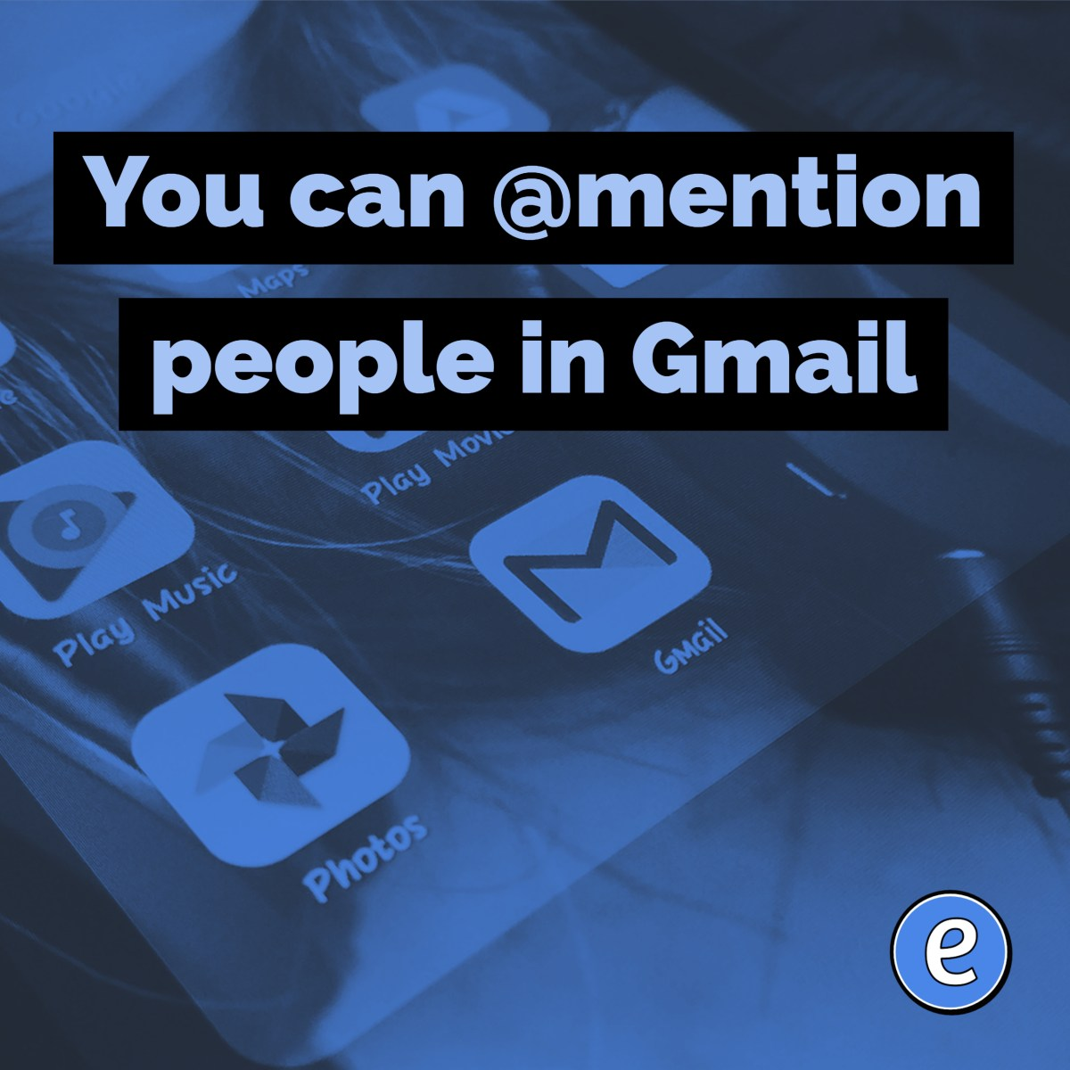 You can @mention people in the new Gmail!