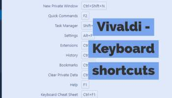 Pop up keyboard shortcuts in Gmail, on a Chromebook, and
