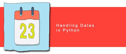 Handling Dates in Python