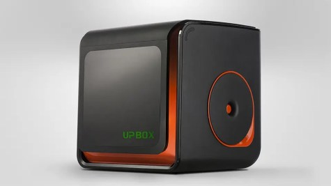 The new UP Box+ desktop 3D printer from Tiertime