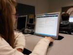 Student uses Edulastic in Computer Lab