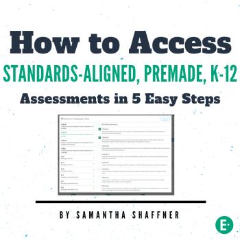 Standards-aligned assessment blog image