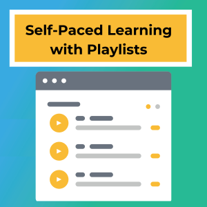 Self-paced learning empowers students.
