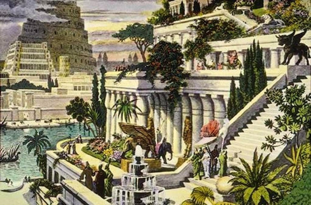 babil asma bahceleri - what 7 wonders of the world