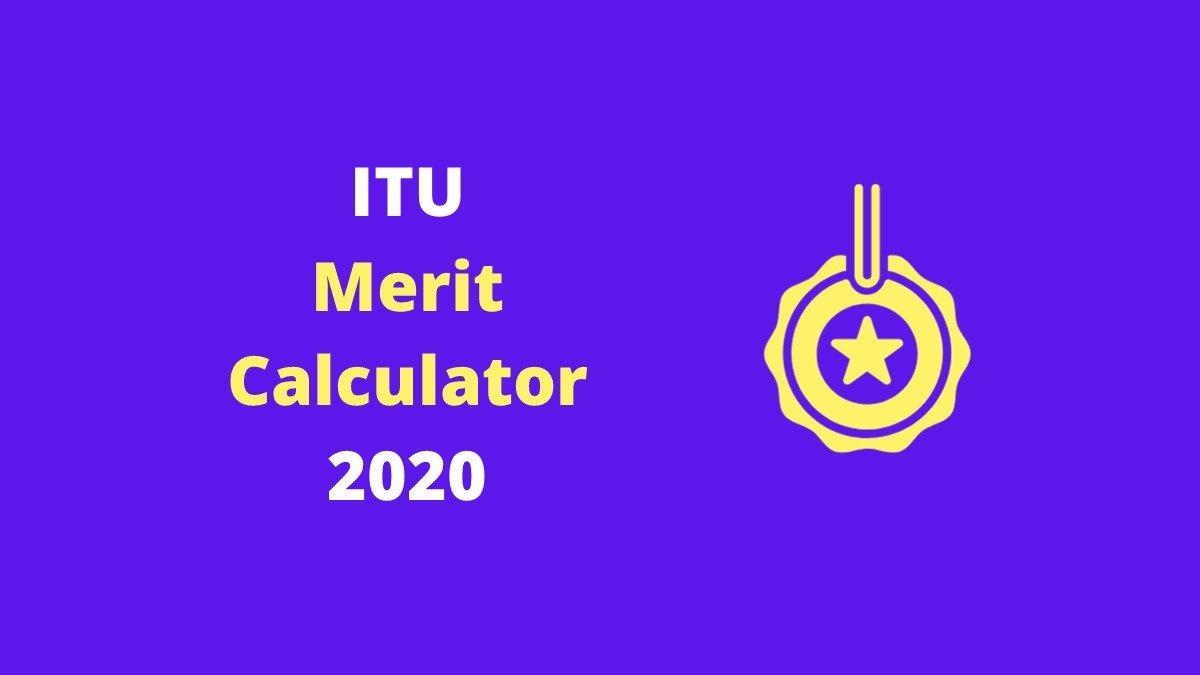 ITU Merit Calculator 2020