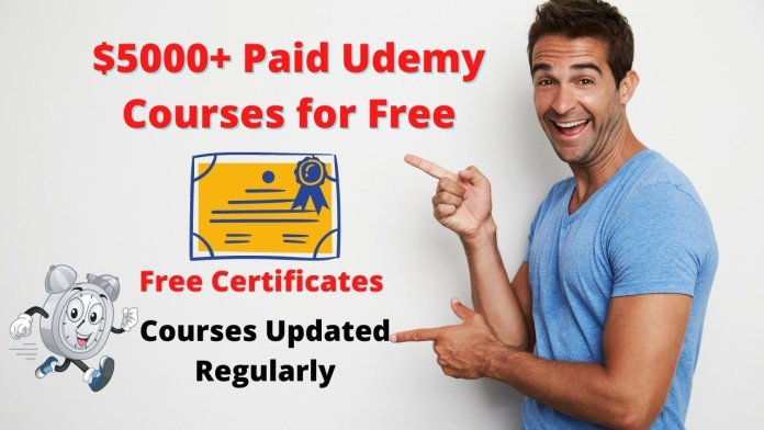 Get Udemy Paid Courses for free with Certificates