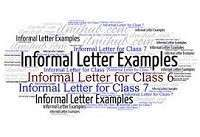 Informal Letter Sample Examples Template And Format