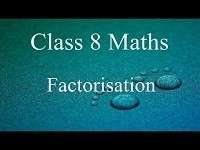 Ch -14 Factorisation- Page wise NCERT Solution (14 4) |
