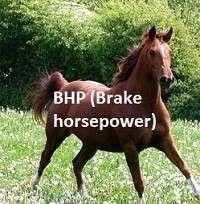 Brake Horse Power (BHP)