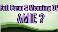 Associate Member of the Institution of Engineers (AMIE)