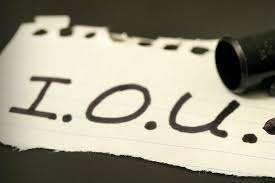 IOU  Full-Form | What is I Owe You (IOU)