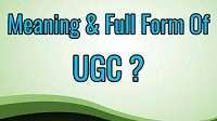 UGC Full-Form | What is University Grants Commission (UGC)
