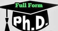 Ph.D. Full-Form | What is Doctor of Philosophy (Ph.D.)
