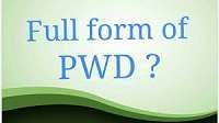 PWD Full-Form   What is Public Works Department (PWD)