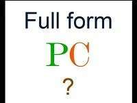 PC Full Form | What is Personal Computer (PC)