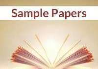 English sample / Model paper for class 10 Set 17- 2020