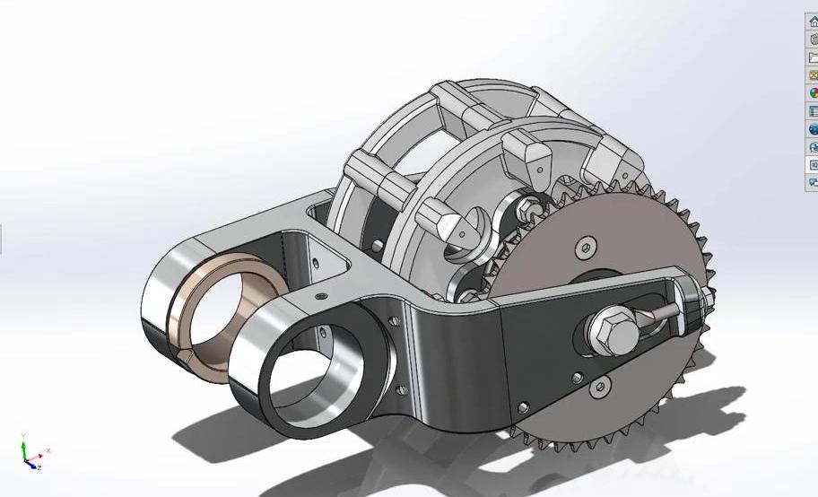 كيفية استخدام برنامج التصميم الميكانيكي Solidworks