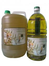 Don Pirulo – Arbequina 2l si 5l produs pe Moșia lui Pirulo. Ulei de măsline aragonez extravirgin, presat la rece din măsline din varietatea Arbequina
