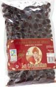 Măsline negre, de cultura ecologică, varietate Farga, ambalate sub vid 1 kg