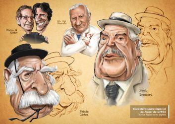 Caricatura Jornal da UFRGS