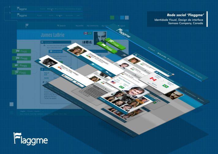 Flaggme Rede Social