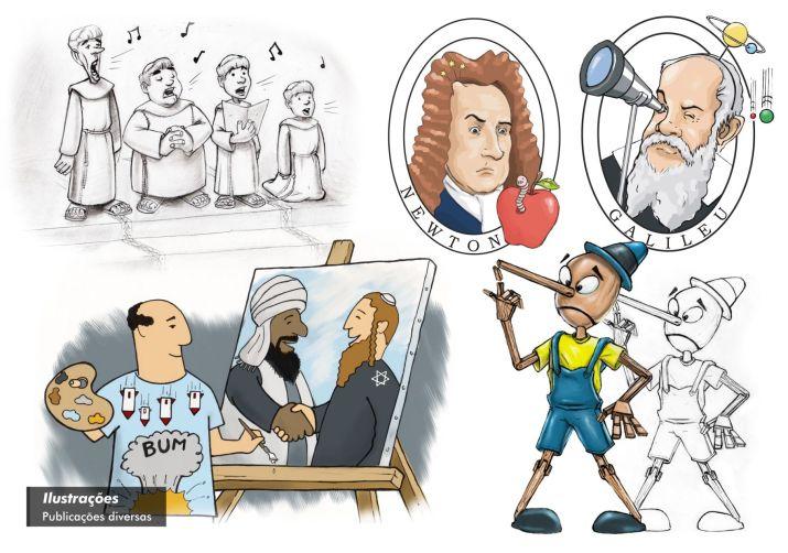 Ilustrações Publicações diversas