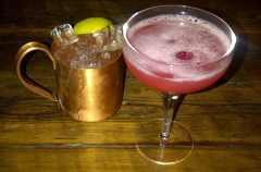The Blackbird Tollcross – cocktails
